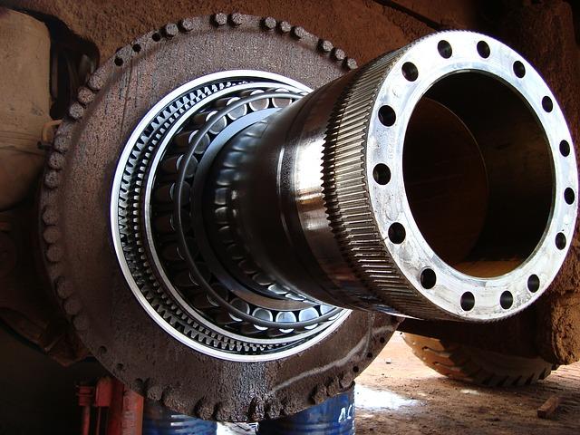 martins engineering heavy machinery shaft and bearings