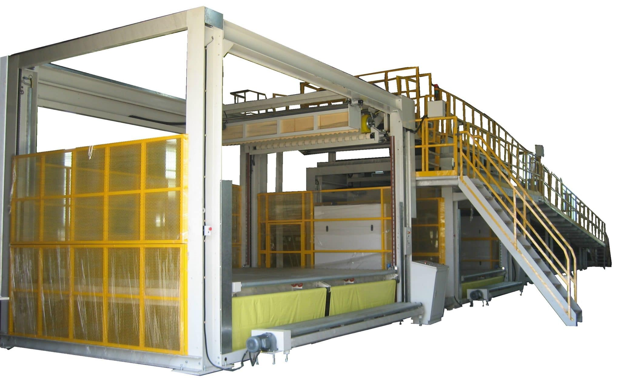 Auto Down Stacker 4M Long by 2.5M Wide