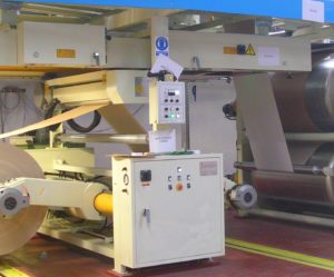 Double Mill Roll Stand and Automatic Splicer